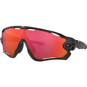 Oakley Jawbreaker Sonnenbrille matte black/prizm trail torch